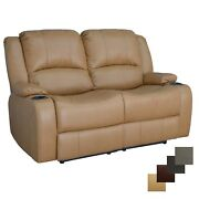 Recpro Charles 58 Powered Double Rv Wall Hugger Recliner Sofa Loveseat