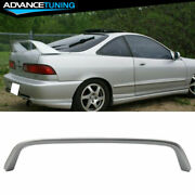 94-01 Integra Dc2 Type-r Oem Painted Color Nh583m Vogue Silver Trunk Spoiler
