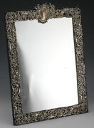 Antique London Sterling Silver Mirror. By William Comyns And Sons Ltd