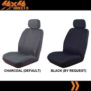 Single Waterproof Canvas Car Seat Cover For Mitsubishi Challenger