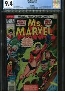Ms Marvel 1 Uk Price Variant Cgc 9.4andnbspu.s. Published First Print Marvel