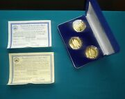 National Collectorand039s Mint 1907 1933 Double Eagle Proof Set .999 Silver 518