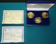 National Collectorand039s Mint 1907 1933 Double Eagle Proof Set .999 Silver 517