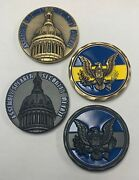 Lot 2 Coins Njsp New Jersey State Police Assembly Speaker Detail State House