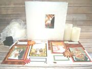 Fall Wedding Scrapbook Album 12 By 12, Ready For 4 By 6 Pics, Anniversary Album