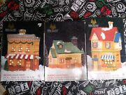 Holiday Expressions Dickens Collectables Porcelain Post Office Lighted House