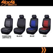 Single Water Resistant Leather Look Seat Cover For Toyota Landcruiser 105