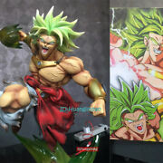 Broly Strike Back Resin Figurine Statue Painted Model Dragon Ball Z In Box New