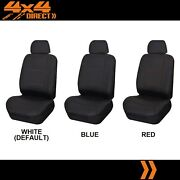 Single Stitched Leather Look Seat Cover For Asia Motors Rocsta