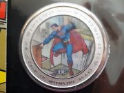 2013 50c 75th Anniversary Of Supermanandtrade Then And Now - Coin And Stamp Set