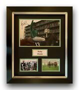Ruby Walsh Hand Signed Framed Photo Display Papillon Grand National.
