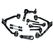Front Suspension Kit Control Arm Tie Rod End For 97-04 Ford F150 F250 Expedition