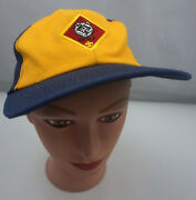 Wolf Scout Boy Scouts Hat Kids S / M Blue Snapback Baseball Cap Pre-owned St210