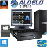 Aldelo Pos System For Bars Restaurants - Complete Package Free Support - I3/4gb