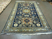 6and039 X 9and039 Vintage Hand Made Knotted Turkish Caucasian Design Wool Rug Nice