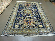 6' X 9' Vintage Hand Made Knotted Turkish Caucasian Design Wool Rug Nice