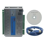 Upgrade Mach3 6 Axis Motion Controller Card Usb Port Cnc Breakout Board 2mhz X-