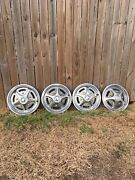1967-1972 Ford Pickup Truck 15 Mag Style Wheel Cover Hubcaps