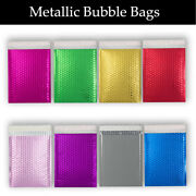 Metallic Bubble Coloured Padded 50 100 200 500 Envelopes By Postage Solutions