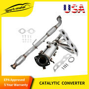 For 02-06 Toyota Camry 2.4l Front Catalytic Converter Direct-fit Epa Approved