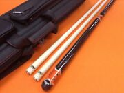 Longoni Carom Cue Magma S30 Shafts And Top Notch Leather Case.