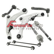8pc Front Lower Control Arm Sway Bar Tie Rods For 2007-2011 2012 Nissan Altima