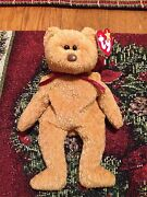 Ty Curly Beanie Baby Curly Bear Retired With Tag Errors Very Rare Free Shipping