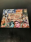 Boston Red Sox 2000 - 2001 Baseball 100th Anniversary Calender Autographed
