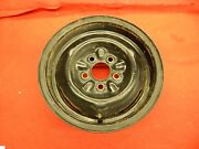 1 Used 60 61 62 63 64 Ford Steel Wheel C2az-1007-c 14x5.5 4.5 Bolt Circle