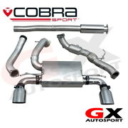 Fd89a Cobra Sport Ford Focus Rs Mk3 15 Turbo Back Sports Cat Res Non-valved