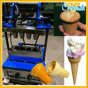 Ice Cream Cone Machine Waffle Maker Commercial Use For Ice Cream Shop
