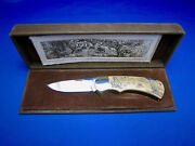 4 Star 715 Arno Hopp Limited Edition Knife 066/300 Made In Solingen Germany