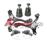 6pc Front Lower Control Arm Ball Joint Outer Tie Rod For 2001 2002 2003-2005