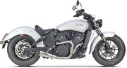 Two Brothers 2-into-1 Exhaust For Indian And Victory 005-4610199