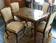 Chippendale Style Antique Table And Chairs