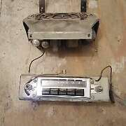 1955 Chevy Radio Deluxe Push Button With Speaker And Tube Assembly