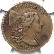 1794 S-42 R-4 Ngc Xf Details Liberty Cap Large Cent Coin 1c