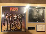 Kiss Collectible Signed By All Original Members. See Photos For More Details.