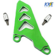 Green Front Sprocket Chain Guide Guard For Honda Crf250x Yamaha Yz125 2005-2014