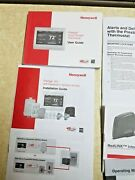 Honeywell Prestige Iaq Touchscreen Thermostat Usr Guide Installation Manual Only
