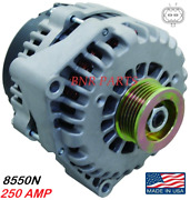 250 Amp 8550n Alternator Gmc Chevy Hummer High Output Performance Made In Usa