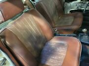 Pair Of Front Seats For Bmw Bavaria 2002