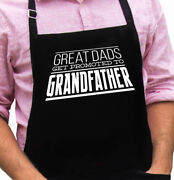 Grandfather Funny Novelty Apron Gift For Dad, Husband, Fathers Day