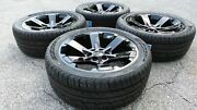2019 Black Yukon Sierra Wheels Rims Tires 22 Rally Midnight Denali 5662 Ck162