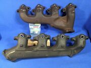 Nos Pair Exhaust Manifolds 72 Chevelle Monte Ss454 Ls5 Ss396 Ls3 Smog
