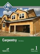Carpentry Level 1 Trainee Guide Hardcover By Nccer Used