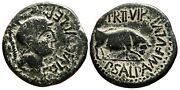 Aet Imperatorial Times. Colonia Victrix Ivlia Lepida As. Vf+/ef. Helmeted Head