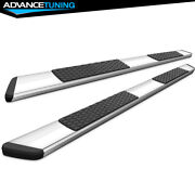 Fits 19-21 Ram 1500 Crew Cab Oe Style 5inch Ss Side Rails Running Boards