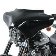 Batwing Fairing Universal For Cruisers Choppers And Custom Bikes Black