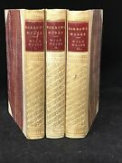 Welsh Classic 1862 Wild Wales George Borrow 1st Edition 3 Volumes